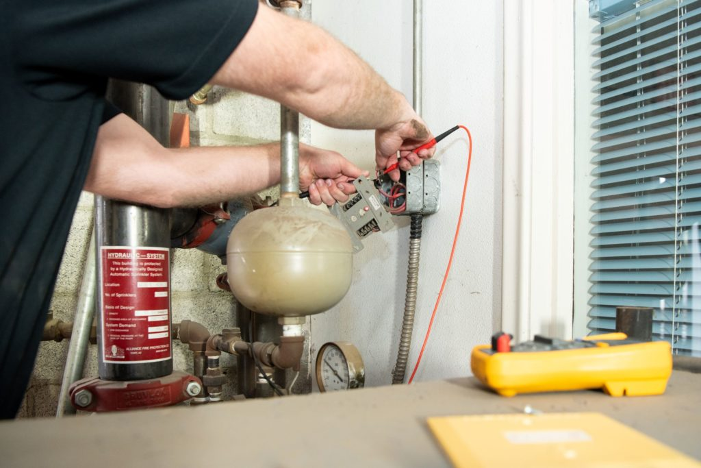 Keep up-to-date on inspections, repair, and maintenance of your fire life safety systems